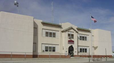 East Helena's Old School Building which now houses City Hall.