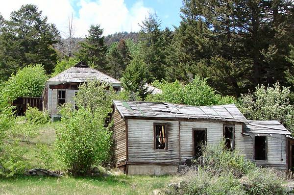 Photo of Abandoned Miners' Homes in Marysville