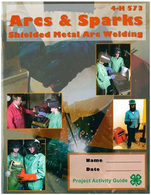 4-H welding project books