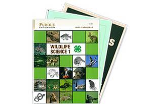 4-H wildlife project books