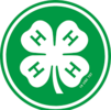 4-H clover in a green circle