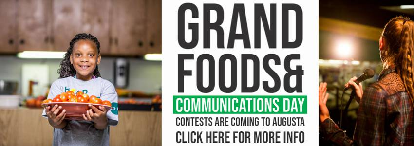 Grand Foods and Communications Day Contests are coming to Augusta!