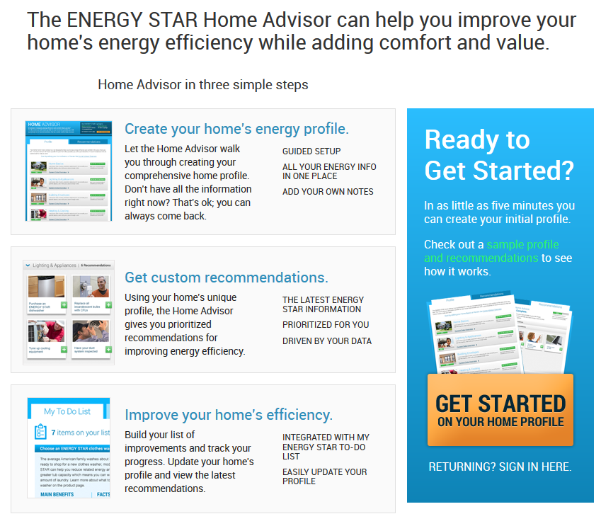 New Energy Star Tool for Homeowners