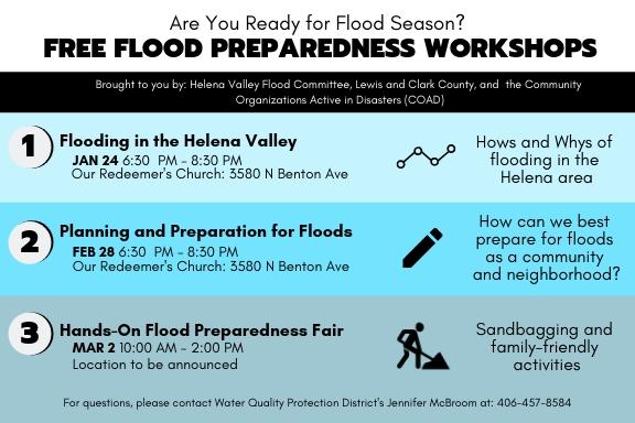 Flood Workshop Postcard